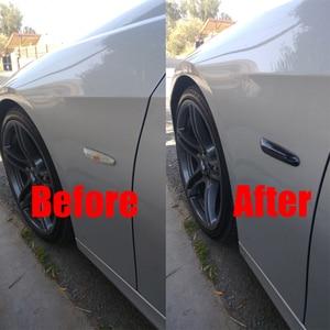 2 шт. дымовая линза, Динамический светодиодный указатель поворота, боковой габаритный фонарь, мигалка для BMW E60 E61 E90 E91 E81 E82 E88 E46 X3 X1