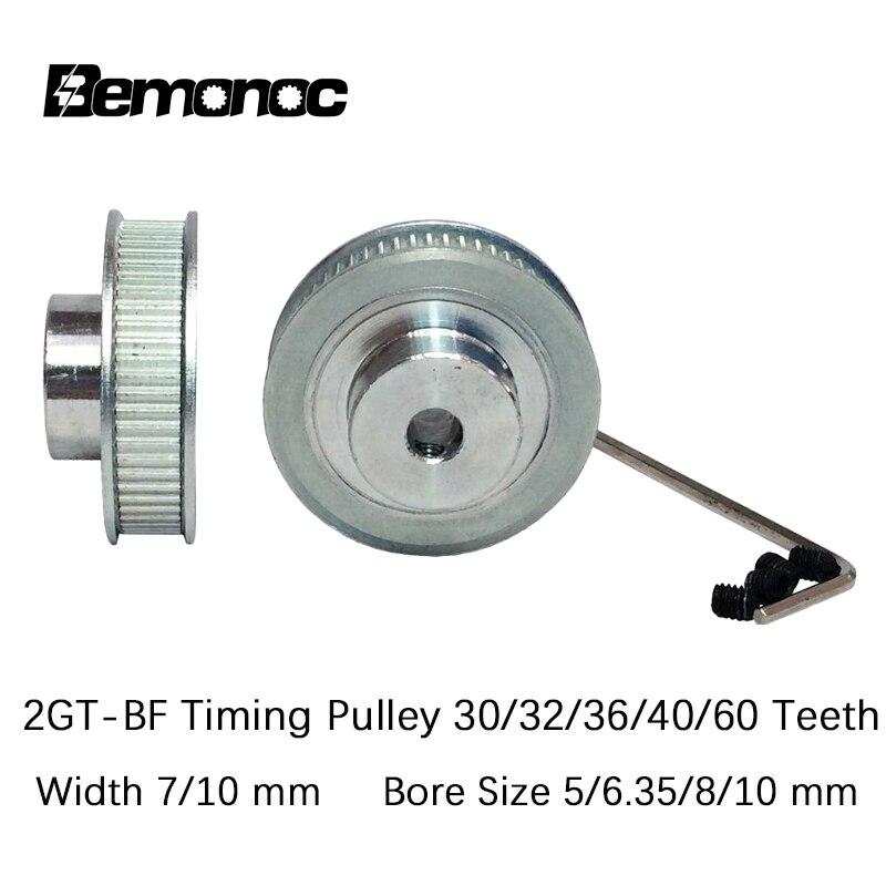 10 6 6.35 Bore 5 GT2 Timing Pulley Belt Width 6 12mm 8 30 Teeth 10mm