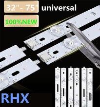 32inch 75inch LCD tv의 유지 보수 LED 램프 비드 3v 6v 백라이트 범용 라이트 바 3030 2835 Hisense Changhong TCL Konka