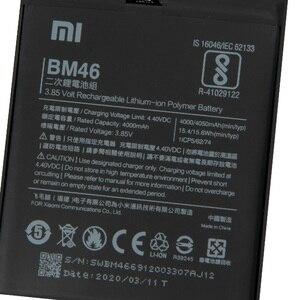 Image 2 - XiaoMi המקורי החלפת סוללה BM46 עבור Xiaomi Redmi הערה 3 פרו Redrice Note3 100% חדש אותנטי טלפון סוללה 4050mAh
