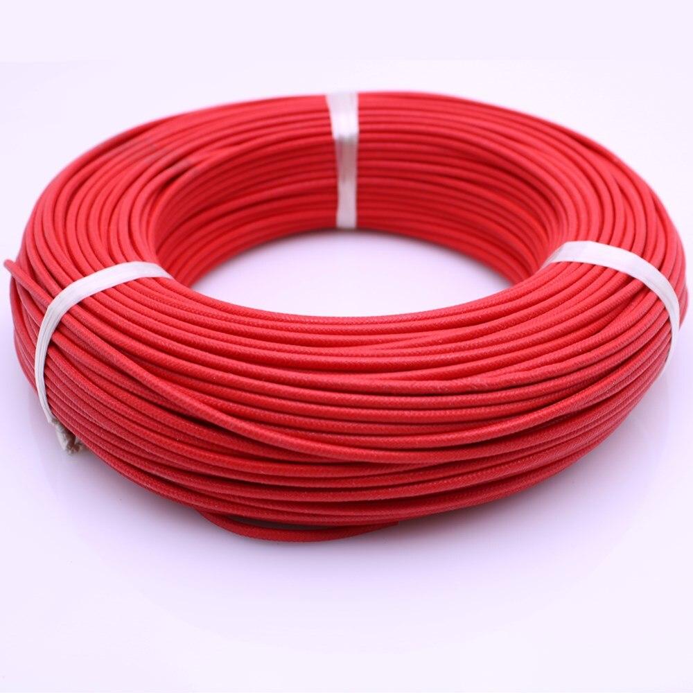 Rojo Cable Flexible 0,5MM 25M