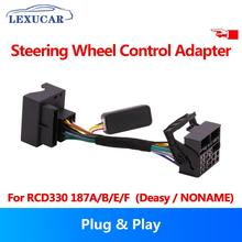 цена на Multifunction Steering Wheel Button Control Canbus gateway Simulator Adapter RCD330 For VW Golf 5 6 Jetta MK5 Passat B6 Touran