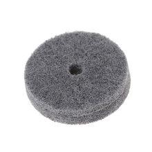 1 шт 75 мм покрыт нейлоновым волокном полировка буфер для полировки
