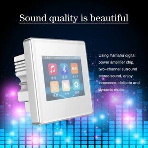 Image 4 - Amplificateur mural à écran tactile, 2020 pouces, système audio domestique, système de musique de noël, nouveau produit 2.8