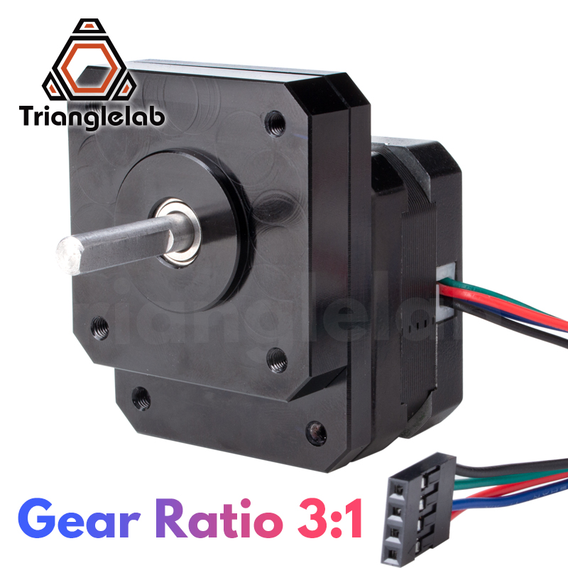 Trianglelab Nema 17 Geared Stepper Motor nbsp 3 1 Reducting Stepping Motor For Prusa I3 MK3S Extruder Change 3 1 Gear Ratio