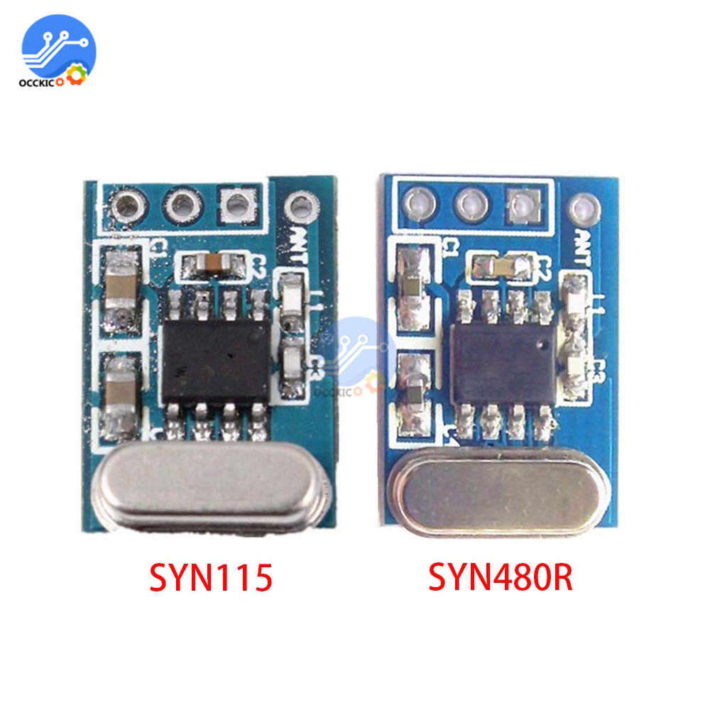SYN480R SYN115 433 Mhz 315 Mhz Draadloze Zender Ontvanger Board Ask/Ook Chip Pcb Voor Arduino