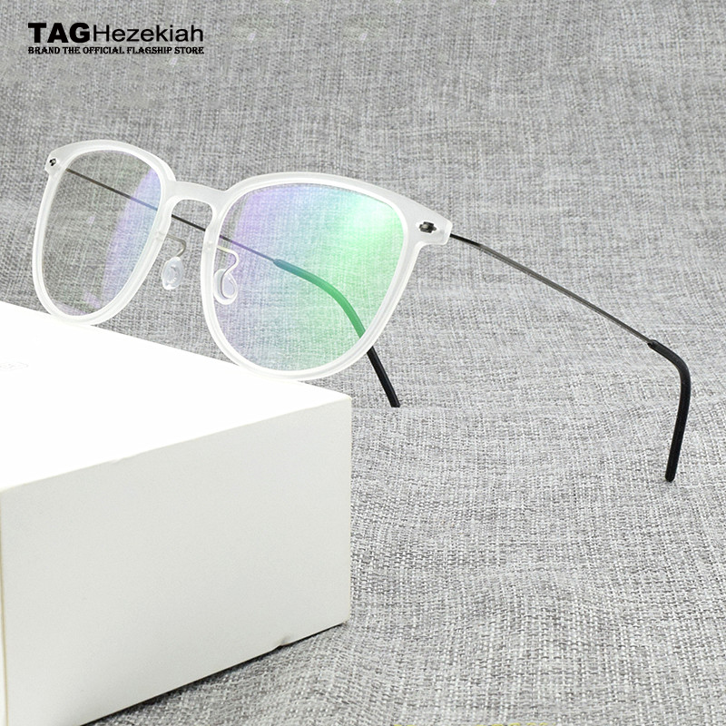 2020 Optical Glasses Frame Women Eyeglasses Ultra Light Brand TR90 Transparent Eye Glasses Frames For Men Spectacle Frames 6549