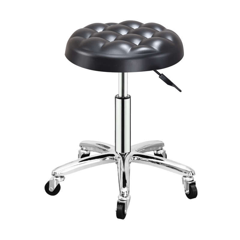 2019 Adjustable Barber Chairs Hydraulic Rolling Swivel Stool Chair Salon Spa Bar Cafe Tattoo Facial Massage Salon Furniture