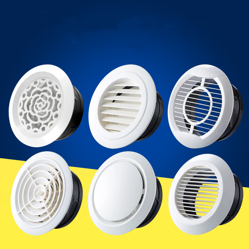 Air-Ventilation-Cover Grille Louver Ducting Bath Air-Outlet Ceiling-Wall-Hole Adjustable
