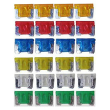 Car-Fuse Blade Assorted Mini Micro Auto 10A 25A 15A Truck 20A 30A 24pcs Van SUV Fit-For