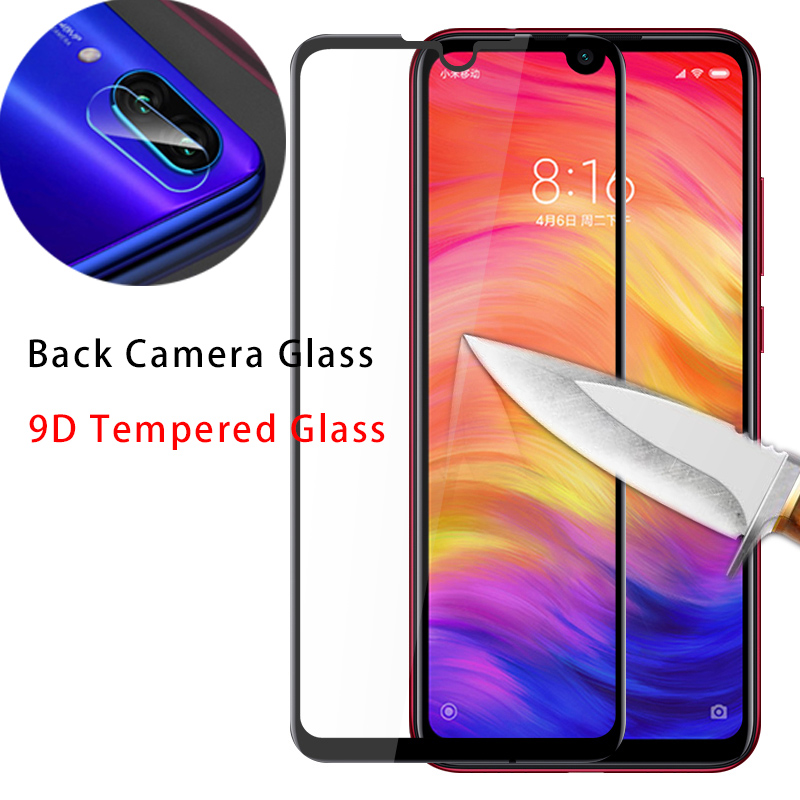Lens Protective Glass for 7 6 5 Pro 4 4X 9D <font><b>Camera</b></font> Tempered Glass for Xiaomi Redmi K20 Pro Screen Protector for Redmi Note <font><b>8</b></font> Pro image