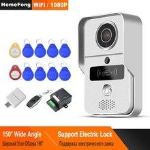 HomeFong WiFi Doorbell Wireless Video Doorbell Outdoor with Camera 1080P Night Vision