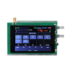 50KHz-200MHz Malachite SDR Radio Malahit DSP 3.5 Inch Touching Screen SDR HAM Transceiver Receiver STM32H742 Professional