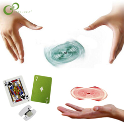1Set Magic Floating Flying Cards Magic Tricks Close-up Rotary Card Toys for Children Gift Profesional Magic Props ZXH