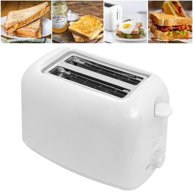 DIOZO 650W Automatic Toaster 2 Breakfast Bread Maker Baking Cooking Tool Fast Bread Toaster Household Breakfast Maker 4