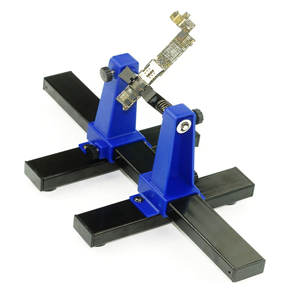 200MM Welding Auxiliary Clip Holder Clamp Universal Adjustable  PCB Soldering Gripper With Metal Base For Industry Metal Welding