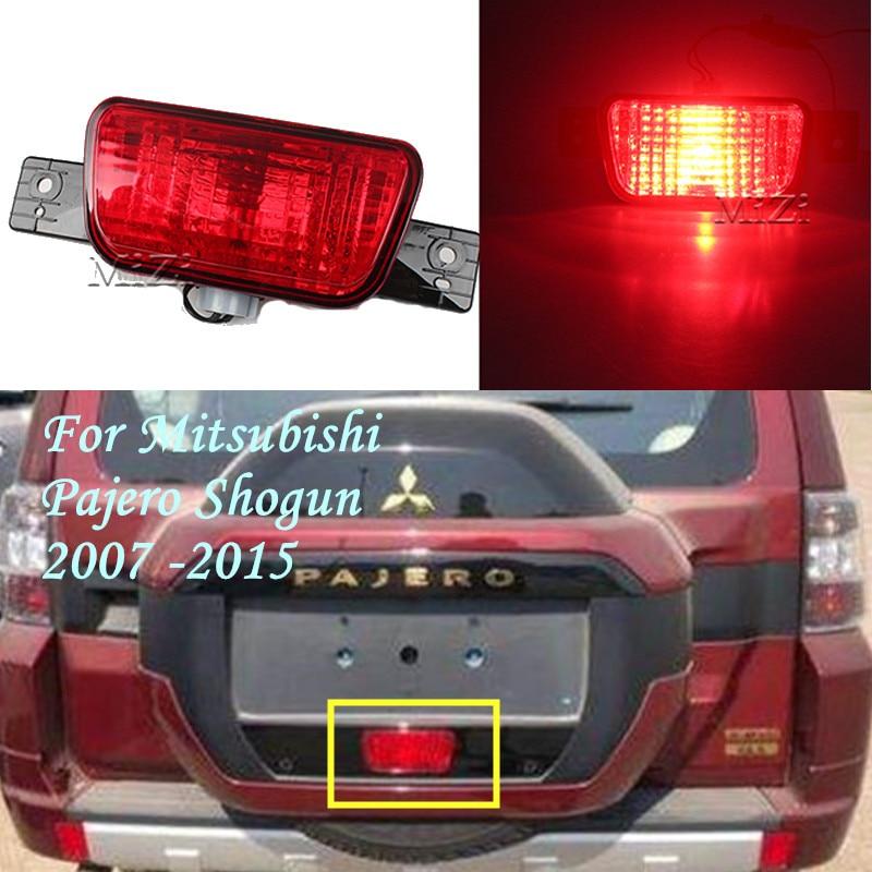 Luz antiniebla de parachoques trasero para Mitsubishi Pajero Shogun 2007 2008 2009 2010 2011 2012 2013-2015 nueva lámpara trasera de repuesto para neumáticos