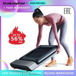 WalkingPad A1 умная электрическая складная беговая дорожка для дома тренажер бегать трусцой быстрой ходьбы в домашних условиях тренировки для по...