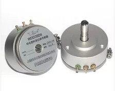 Envío Gratis WDD35D-4 WDD35D4 de precisión de plástico conductivo potenciómetro 0.1%