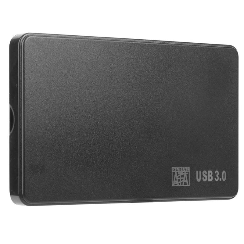 <font><b>2.5</b></font>/<font><b>3.5</b></font> inch HDD <font><b>SSD</b></font> Case SATA to USB 3.0 2.0 Adapter 5 Gbps Hard Drive Enclosure Box For Windows Mac OS Support 2TB HDD Disk image