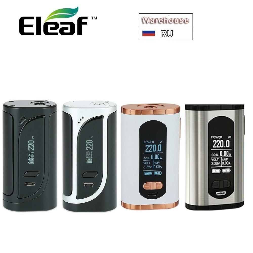 Original Eleaf Invoke 220W TC Box MOD Vs Eleaf IKonn 220 Box MOD 220W No 18650 Battery Electronic Cigarette Mods Vs IKuun I200