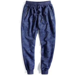 Image 2 - Big Size 10XL Fashion Joggers Pants Men Baggy Stretch Male Camouflage Tracksuit Bottoms Sweatpants Quality Long Harem Trousers