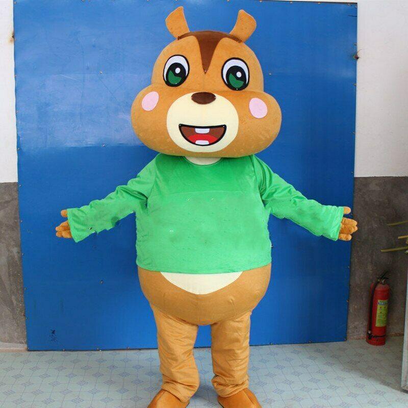 Halloween écureuil dessin animé mascotte costumes Cosplay fête vêtements adultes noël fête d'anniversaire pour enfant tenue