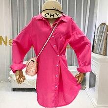 Designer Blouses Kimono Cardigan Women 2019 Autumn Long Sleeve Ladies Tops  Office Lady Shirts Korean Fashion