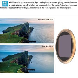Image 5 - Gopro hero 8 용 다층 코팅 렌즈 필터 gopro 8 카메라 액세서리 용 mcuv/cpl/nd4 8 16/star/15x 매크로 필터