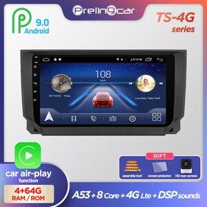 prelingcar 4G For Seat Ibiza MK4 6j 2009 10 11 12 13 auto Android 9.0 Car monitor Radio Multimedia Player Navigation GPS stereo(China)