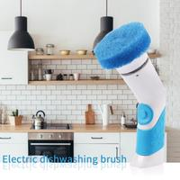 Hand Electric Dishwasher Mini Dishes Washing Machine Kitchen Dishwashing Cleaner Cleaning Brush clean up