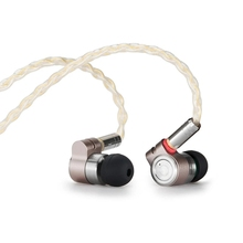 Tinhifi T3 1BA+1DD HIFI Hybrid Driver In Ear Earphone IEM Monitor Earphone Earbud with Gold plated OFC SPC MMCX Cable T2 PRO P1