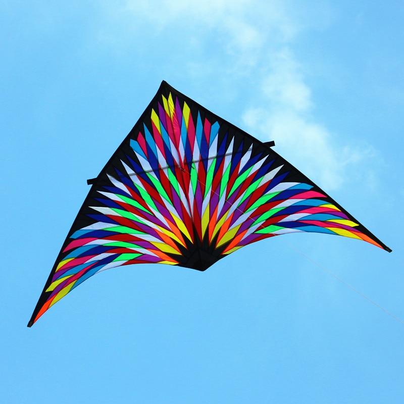 Livraison gratuite haute qualité 6sqm feux d'artifice grand delta cerf-volant mouche jouets pour adultes weifang cerf-volant usine ripstop nylon 2020 nouveau chaud