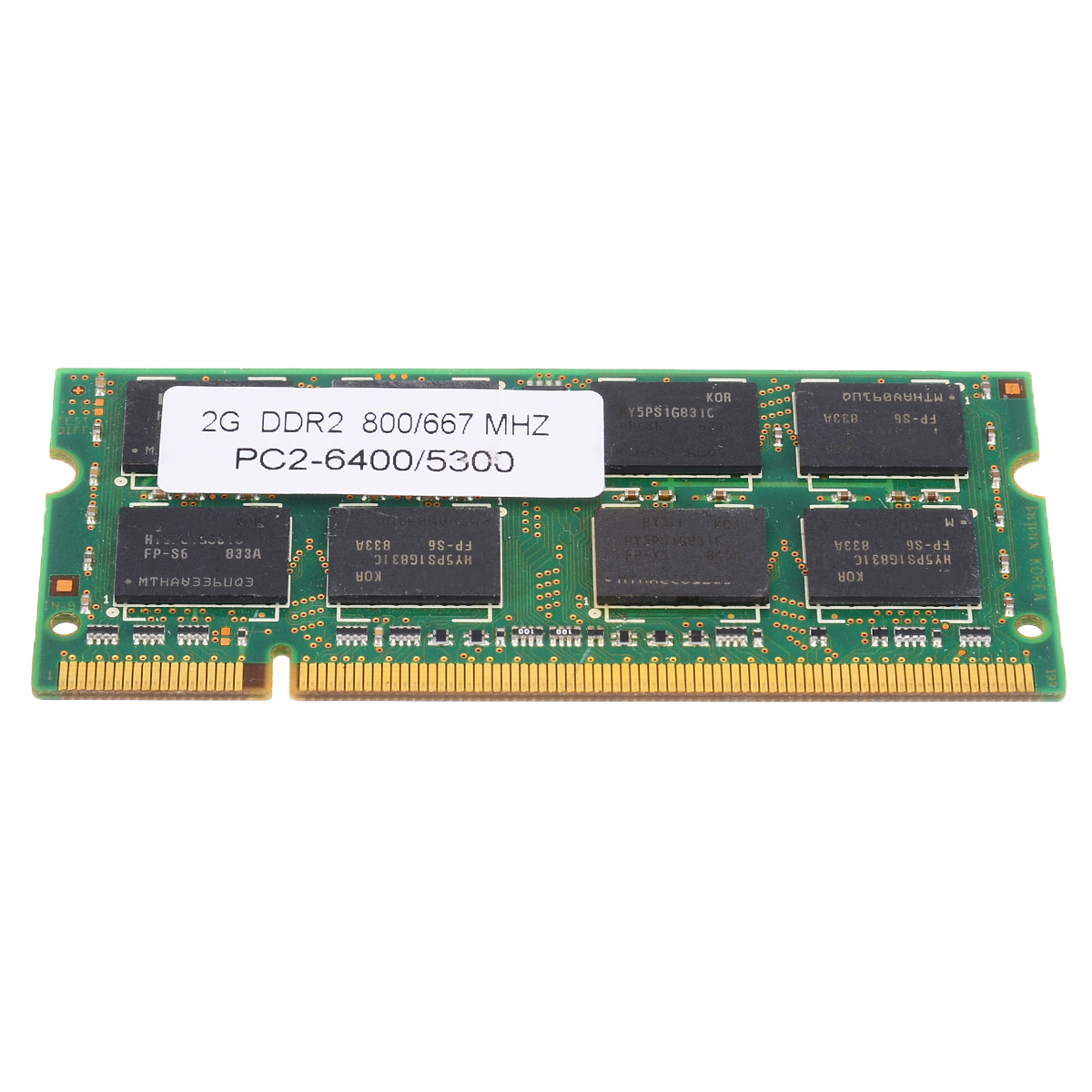 Laptop Memory DDR2 With 2GB PC2 6400/5300 800/667MHZ Low-Density 7