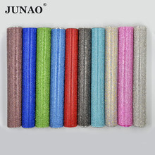 Junao 24*40 Cm Hotfix Colorful Rhinestones Kain Lembaran Kaca Kristal Trim Diamond Mesh Berlian Imitasi Appliques untuk Perhiasan Gaun membuat(China)