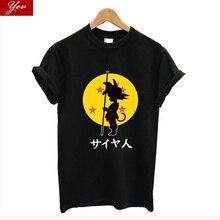 Dragon Ball son goku TShirt women Summer women t-shirt Cotto