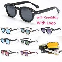 $ Caixa de luxo marca designer lemtosh estilo óculos de sol para o sexo masculino feminino oculos