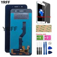 5.0'' Phone LCD Display Touch Screen For ZTE Blade A520 BA520 LCD Display Digitizer Panel Assembly Repair Tools Protector Film
