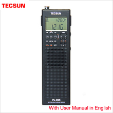 Tecsun PL 365 Portable Single Sideband Receiver Full Band Digital Demodulation for the Elderly DSP FM Mid Wavelength SSB Radio