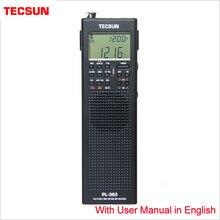 Tecsun PL-365 портативный однодиапазонный приемник полнодиапазонная цифровая Демодуляция для пожилых DSP FM средней длины SSB радио