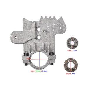Image 4 - 11.5/12インチチェーンソーブラケット変更100 125 150電気アングルグラインダーM10/M14/M16にチェーン木工工具セット