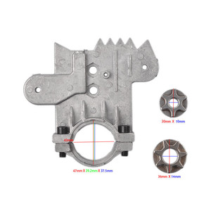 Image 4 - 11.5/12 Inch Chainsaw Bracket Changed 100 125 150 Electric Angle Grinder M10/M14/M16 Into Chain Saw Woodworking Power Tool Set