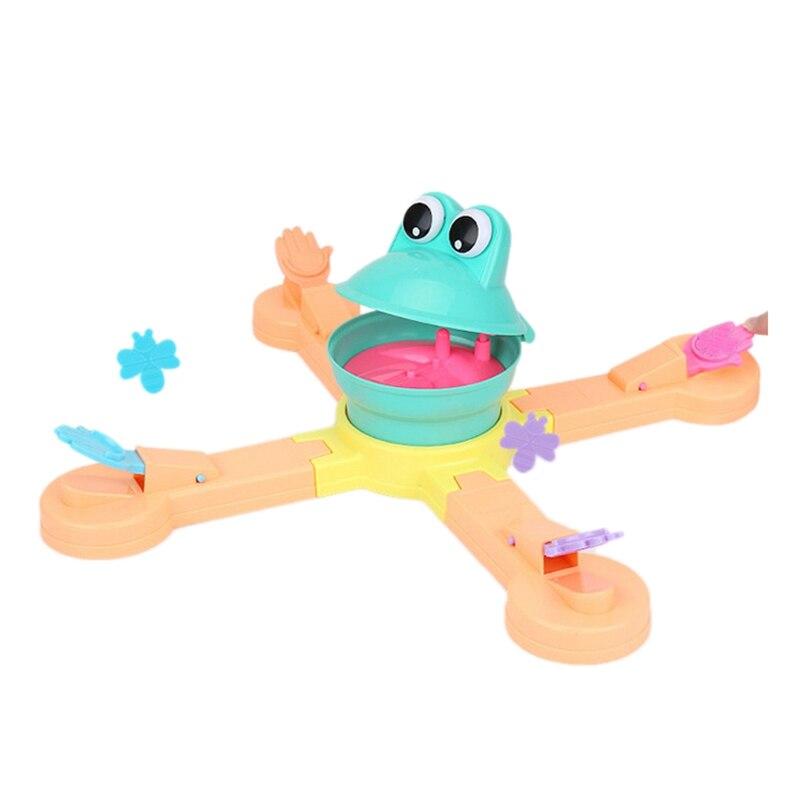 Горячая Кормление лягушка проекция поедание бобы забавная настольная головоломка Научная игра родитель-ребенок интерактивные детские