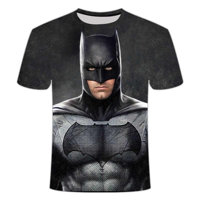 Marvel batman Captain America t-shirt hot superman t degli uomini della camicia joges 2020 Supereroe t-shirt dei vestiti di Estate