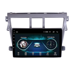 4G LTE Android 10.1/9/8.1 For Toyota VIOS 2007 2008 2009 2010 2011 2012  Multimedia Stereo Car DVD Player Navigation GPS Radio