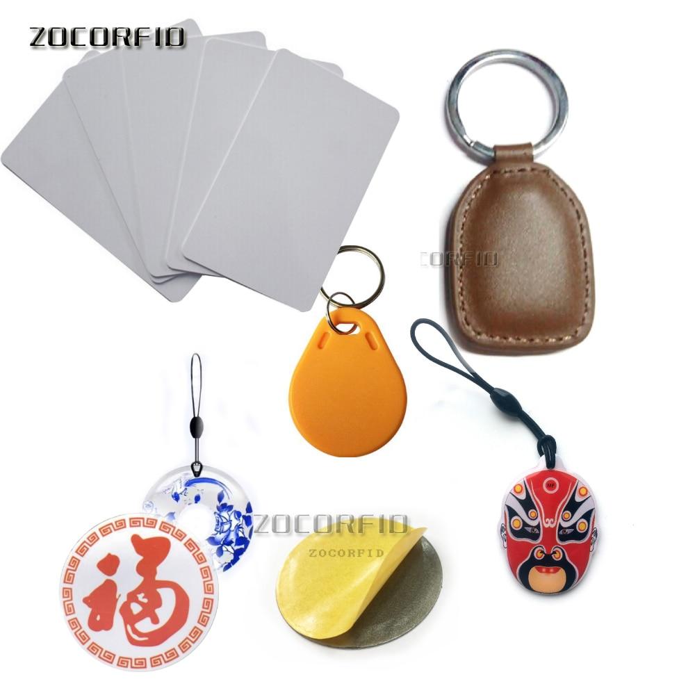 Copy Rewritable Writable Rewrite EM ID Keyfobs RFID Tag Key Ring Card 125KHZ Proximity Token Access Duplicate