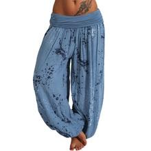 Pant Aladdin Thai-Trousers Smock Festival Boho Loose Hippy Yoga A20 Pnats High-Waist