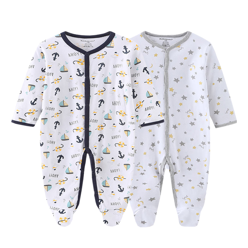 Новинка; Хлопковые комбинезоны унисекс для маленьких мальчиков и девочек; Комплекты одежды для новорожденных с героями мультфильмов; Roupa De Bebe|Комплекты одежды| | АлиЭкспресс