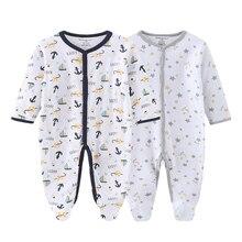 New Unisex Cotton Baby Boy Girl Rompers Clothes Cartoon Newborn Clothing Sets Roupa De Bebe
