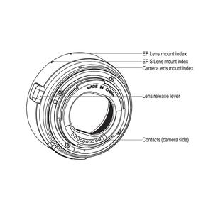 Image 4 - Viltrox Auto Focus EF EOS M MOUNT Lens Mount Ring Adapter for Canon EF EF S Lens to Canon EOS Mirrorless Camera